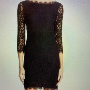 Diane Von Fustemberg Zarita Dress Black